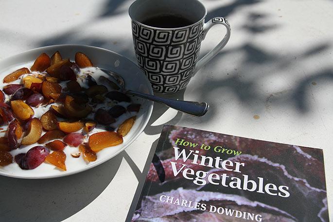 Læsestof til morgenmaden.