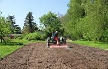 Så er min grønsagsmark klar til at plante i. Det tog under 10 minutter.
